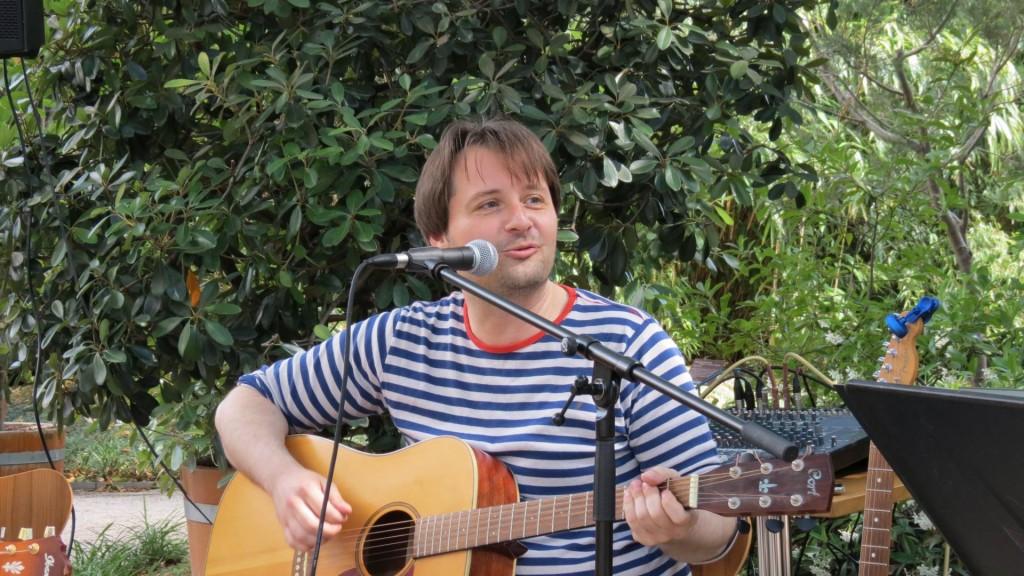 Axel Lukkien in de Hortus
